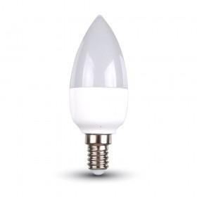 Ampoule LED E14 6W C37 Blanc chaud