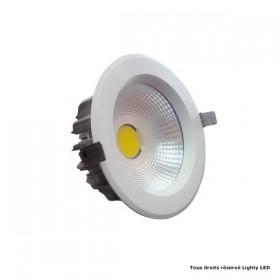 18W LED COB Downlight Reflector Blanc confort