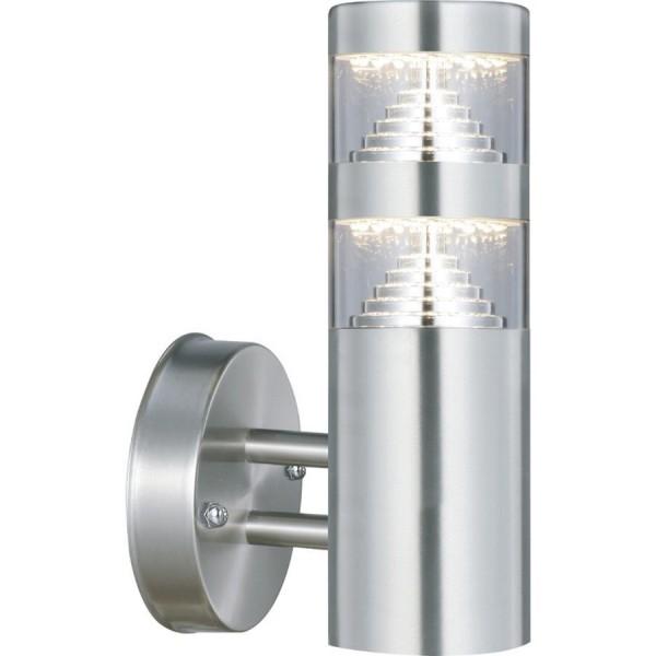 Applique montante CASTELLANE inox LED 900 Lumens