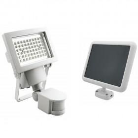 Projecteur solaire à détection 60 LEDs 600 Lumens
