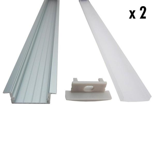 2 1 Mètres Inox D'encastrement X Profilé q3RjSA45cL