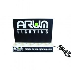 Présentoir ampoules LED 5xE27