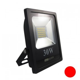 Projecteur LED 30W IP65 rouge