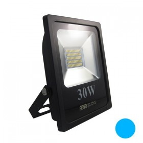 Projecteur LED 30W IP65 bleu