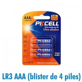 Piles AAA LR3 Ultra Alcaline PKCell 1.5V