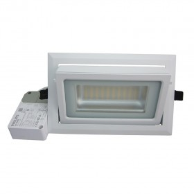 Spot LED Rectangulaire Inclinable 40W