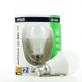 Ampoule LED Retrofit B22 9W Blanc chaud