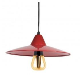 Suspension Jovit LED E27 - 8W - Rouge