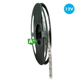 Ruban LED Pro 12V DC 5 Mètres 12W/M IP33