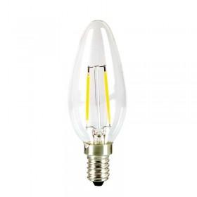 Ampoule LED Filament 2W blanc chaud