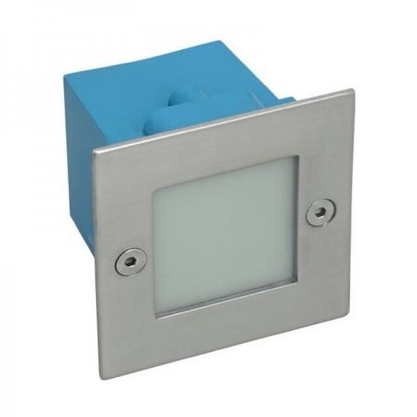 Applique led extérieur encastrable carré blanc chaud