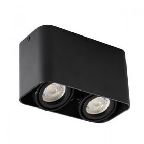 Double spot saillie noir TOLEO DTL250 Design