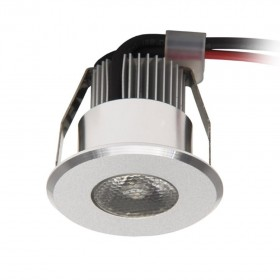 Mini Downlight 1W IP20 Blanc chaud