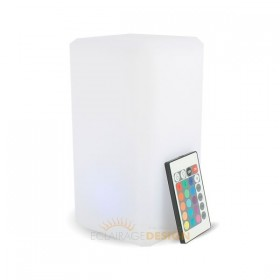 Centre de table LED rectangulaire rechargeable