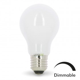 Ampoule LED E27 10W Eq 75W MAT Dimmable En verre