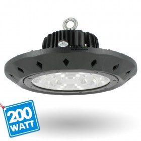Gamelle industrielle HIGH BAY UFO 200W IP65