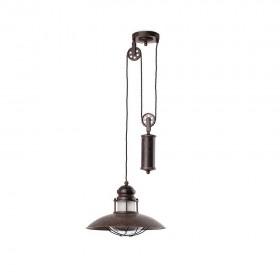 WINCH Lampe suspension marron