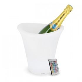 Seau à Champagne lumineux rechargeable LED
