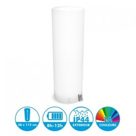 Colonne Cylindrique Rechargeable LED 115cm
