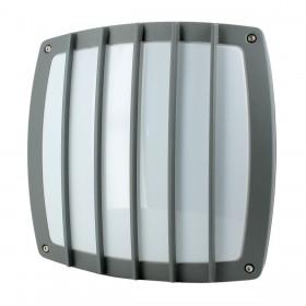 Applique LED 12W extérieur MEGEVE Carré Blanc chaud