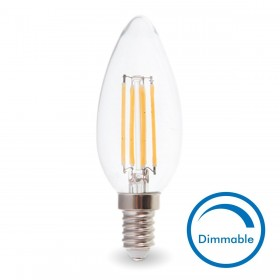 AMPOULE LED E14 4W Eq 40W Dimmable