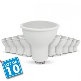 Lot de 10 Ampoules GU10 5W 320Lm eq. 40W