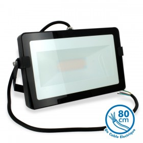 Projecteur LED 50W Noir Extérieur IP65