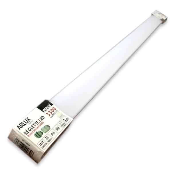 Reglette Interconnectable LED Etanche 120cm 36W IP65 4000k
