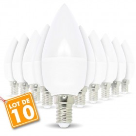 Lot de 10 ampoules E14 5.5W eq 40W