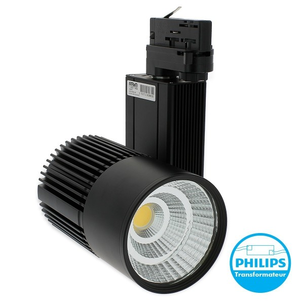 Tracklight 30W pour rail universel 4 Wires