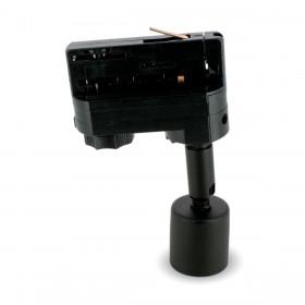 Paterne Noire GU10 pour Rail 4 wire