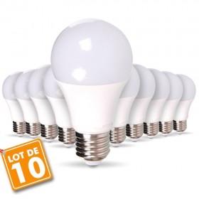 Lot de 10 ampoules E27 11W
