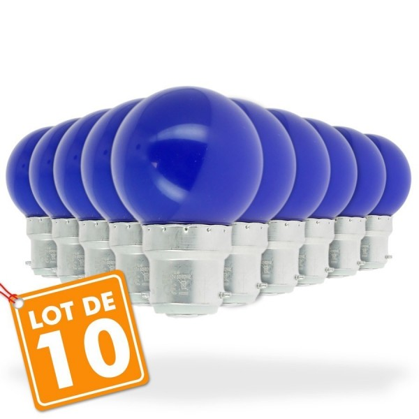 1 De Bleu WattGuirlande Lot 10 Ampoules Wattéquivalent À Guinguette Led ZkOiXuP