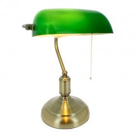Lampe de Bureau banquier Vintage E27