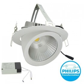 Spot Escargot PRO COB 35W Transfo Philips