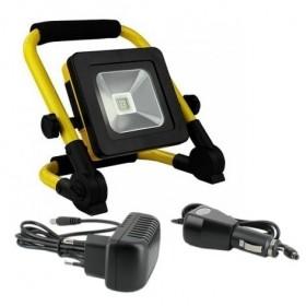 Projecteur LED 10W rechargeable pour chantier