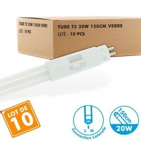 Lot de 10 Tubes T5 LED 150cm 20W connexion latérale