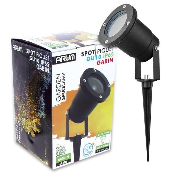 Spot piquet jardin GU10 (vendu sans ampoule)