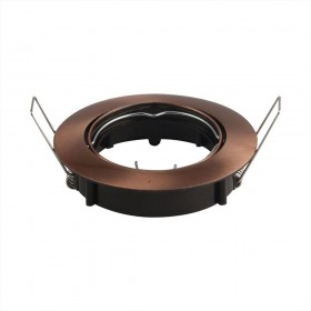 Support orientable rond finition bronze D82