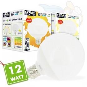 Ampoule Led 12W Eq 75W G95 E27 Globe
