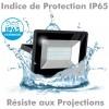 Projecteur LED ATRIA 30W NOIR IP65 extérieur