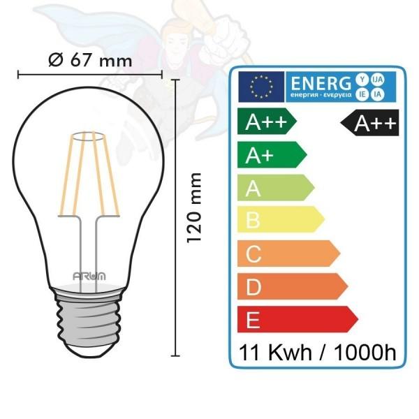 Ampoule LED E27 11W 1521 Lumens Eq 100W