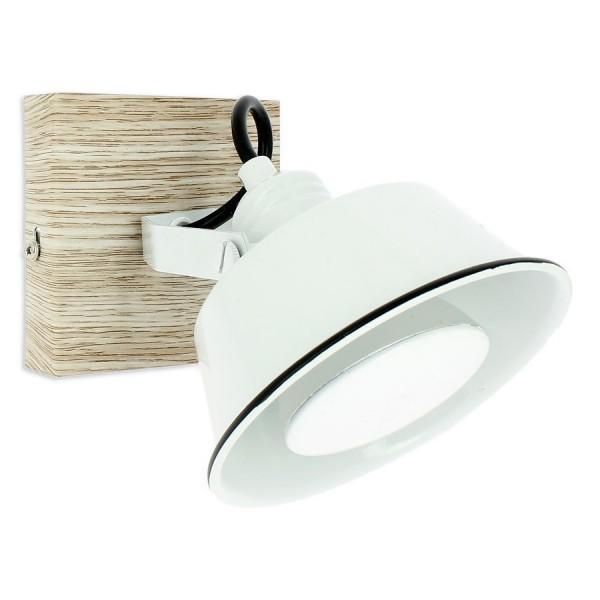Applique RIDLEY Blanche avec Ampoule GU10 LED Blanc Chaud