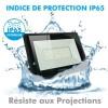 Projecteur LED ATRIA 200W NOIR Eq 1600W IP66 extérieur