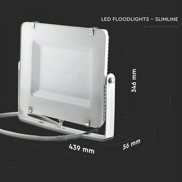 Projecteur LED 200W V-TAC PRO SLIM LED BLANC SAMSUNG