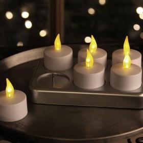 6 bougies à LED rechargeables