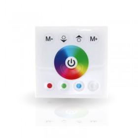 Controleur RGB mural tactile blanc