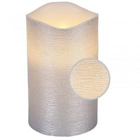 Bougie LED LINDA Argent