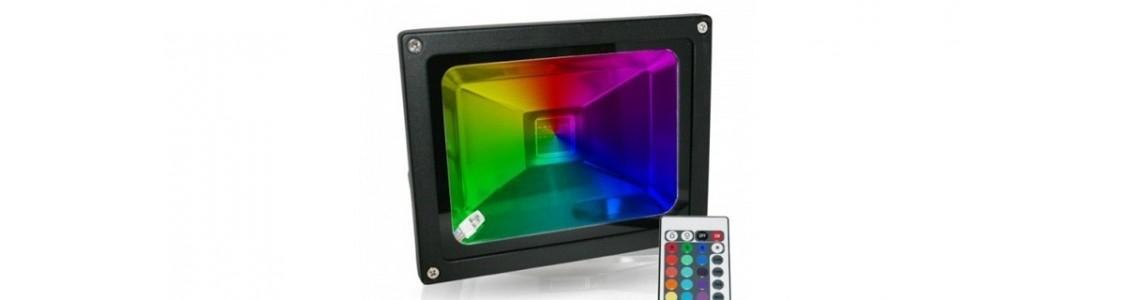 Projecteur led couleurs